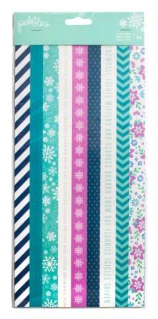AC Winter Wonderland Washi Tape Booklet 6 Sheets 54/PKG