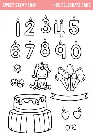 SSS Celebrate Cake