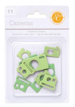 AC Essentials Chipboard - Green Camera