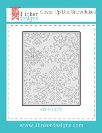 LI Cover Up Die: Snowflakes