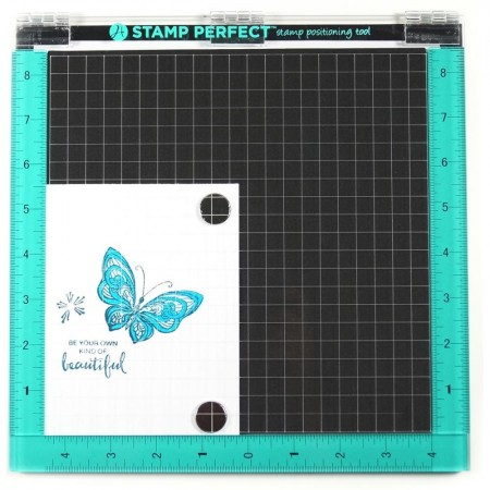 "HA Stamp Perfect Tool (10""x10"")"
