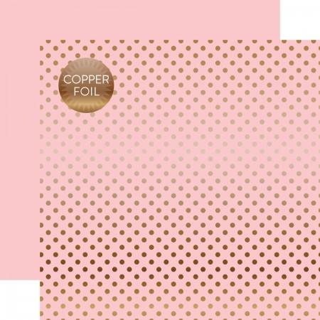 EP Copper Foil Lt. Pink Paper 12x12