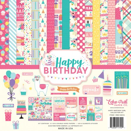 EP Happy Birthday Girl Collection Kit