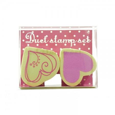 Duet stamp