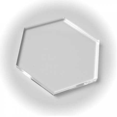 Honeycomb Acrylic Block 12cm