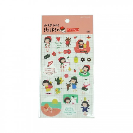 HJ Stickers (Pink)