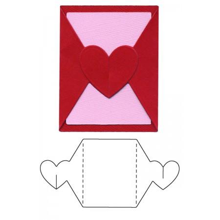 AC LC Template Die Mini Valentine