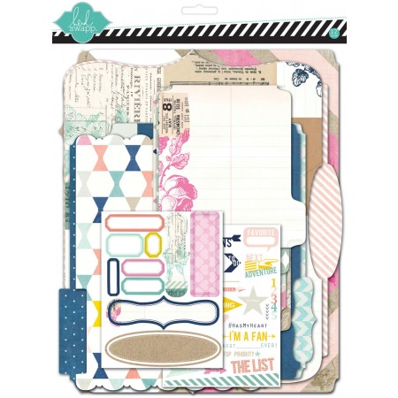 AC Heidi Swapp Memory Files Kit - Hello Today