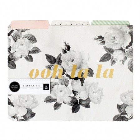 AC Pink Paislee Paperie - Ooh La La