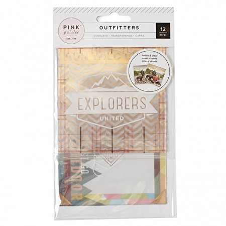 AC Outfitters Photo Overlays 12/PKG