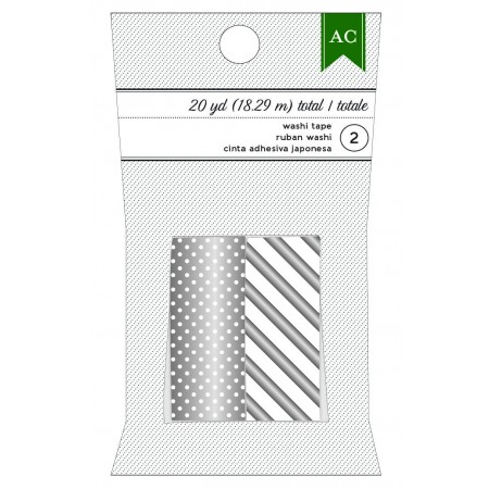 AC Washi Tape - Silver