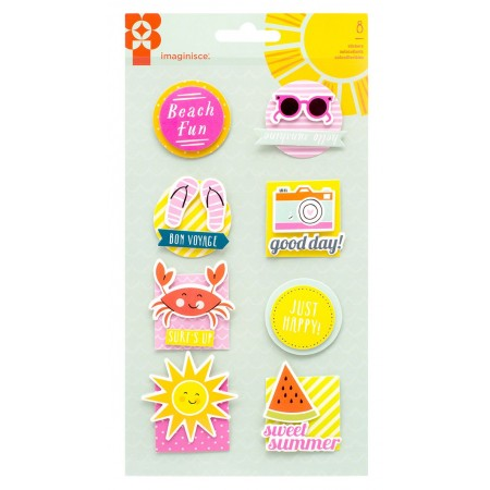 AC Sunny Sticker Stackers 3D Stickers