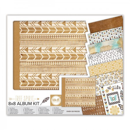 "AC Free Spirit Album Kit 8""x8"""