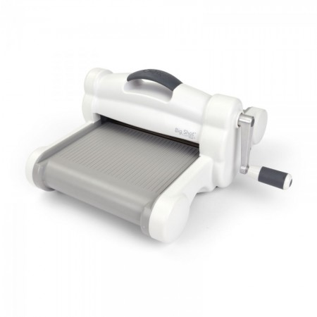 Sizzix Big Shot Plus Machine Only (White & Gray)