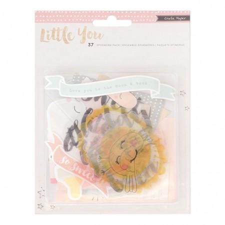 AC Acrylic & Cardstock Ephemera 37/PKG - Girl