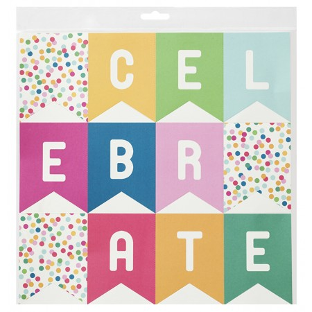 AC Birthday wishes - 12 x 12 specialty paper - banner
