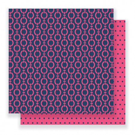 """AC Everyday Double-Sided Cardstock 12""""x12"""" - Pink Links"""