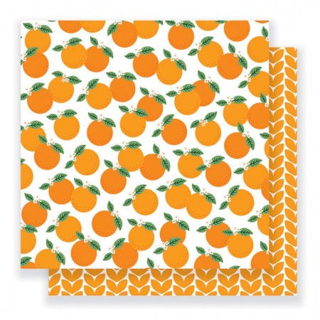 "AC Everyday Double-Sided Cardstock 12""x12"" - Mandarins"