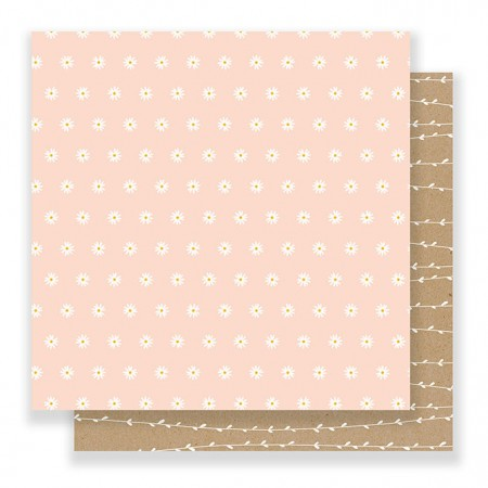 """AC Spring Fling Double-Sided Cardstock 12""""x12"""" - Scattered Daisies"""