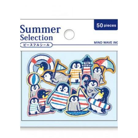 Penguin sticker Summer Selection