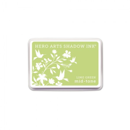 HR Shadow Ink - Lime Green Mid-Tone