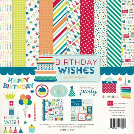 EP Birthday Wishes Boy Collection Kit