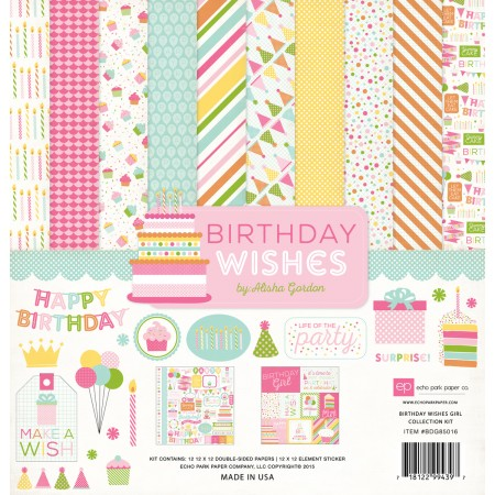 EP Birthday Wishes Girl Collection Kit