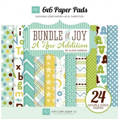 EP Bundle of Joy Boy A New Addition 6x6 Paper Pad