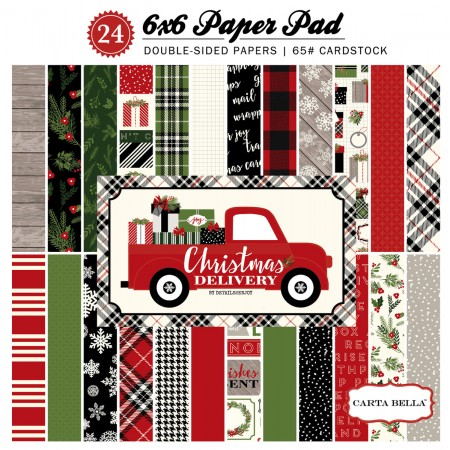 EP Christmas Delivery 6x6 Paper Pad