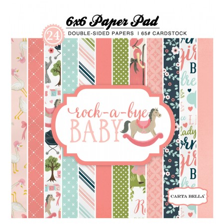 EP Rock-a-Bye Baby Girl 6x6 Paper Pad