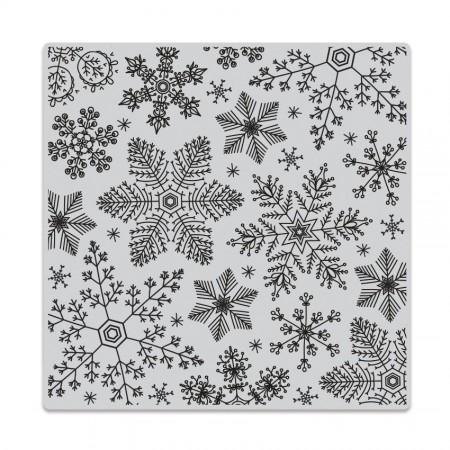 HR Hand Drawn Snowflakes Bold Prints