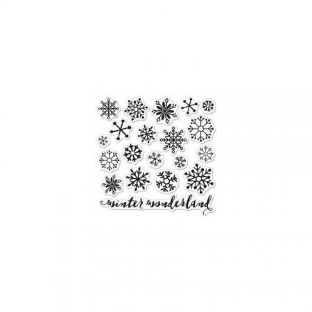 HR Snowflakes by Lia