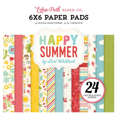 EP Happy Summer 6x6 Paper Pad