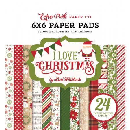EP I Love Christmas 6x6 Paper Pad