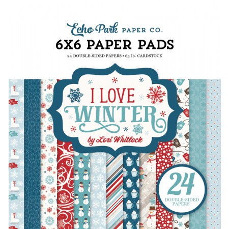 EP I Love Winter 6x6 Paper Pad