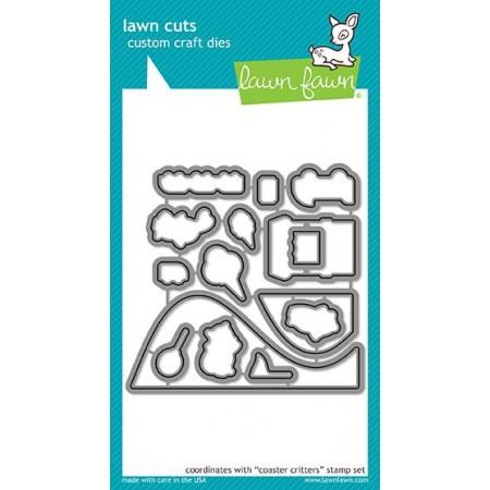 LF coaster critters - lawn cuts