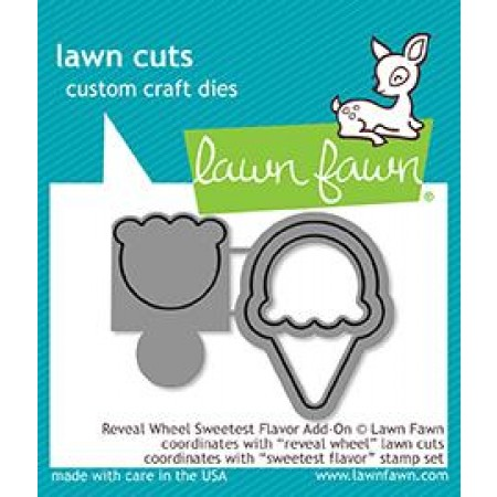 LF reveal wheel sweetest flavor add-on - lawn cuts
