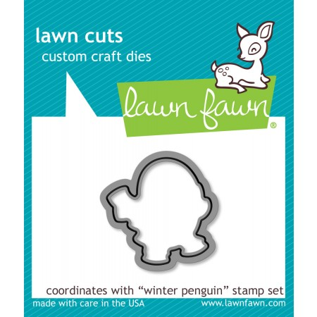LF Winter Penguin - Lawn Cuts