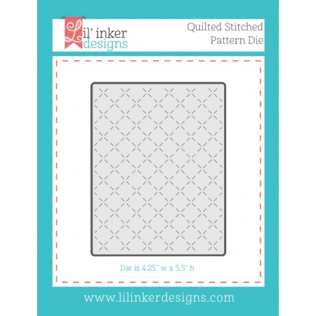 LI Quilted Stitched Pattern Die