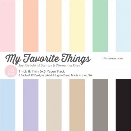 MFT Thick & Thin  Paper Pack