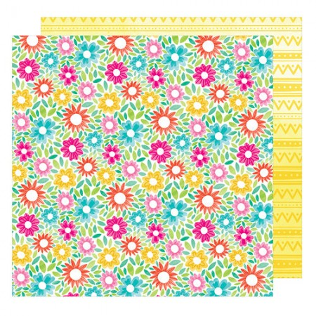 AC Hello Spring Collection Lovely Bunny 12 x 12 Double Sided Paper