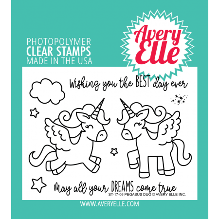 AE Pegasus Duo Clear Stamps