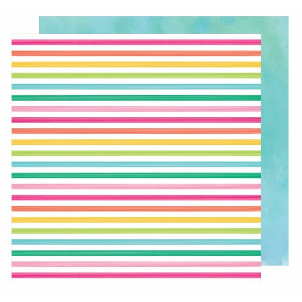 AC Hello Spring Collection Cutie Bunny 12 x 12 Double Sided Paper