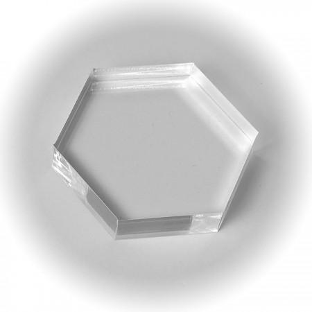 Honeycomb Acrylic Block 5cm