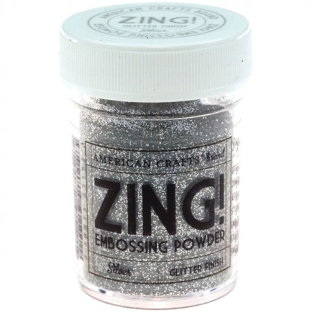 Zing! Collection - Glitter Embossing Powder - Silver