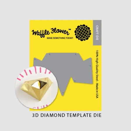 WFC 3D Diamond Template Die