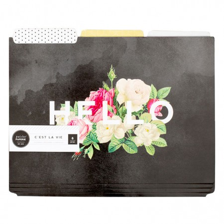 AC Pink Paislee Paperie - Hello