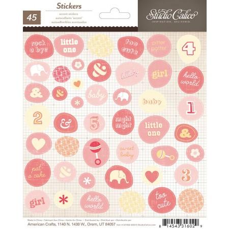 AC Story Time Sticker Sheet - Baby Girl