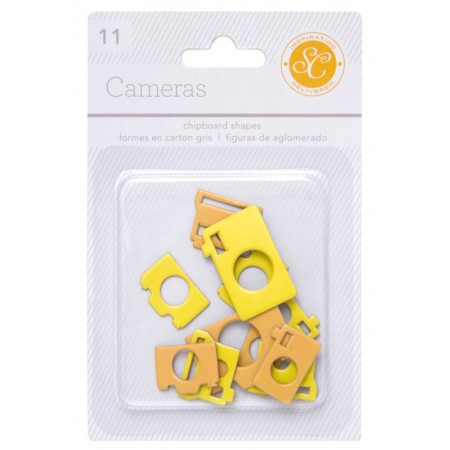 AC Essentials Chipboard - Yellow/Orange Camera