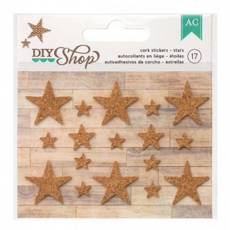 AC Diy shop - stars cork stickers